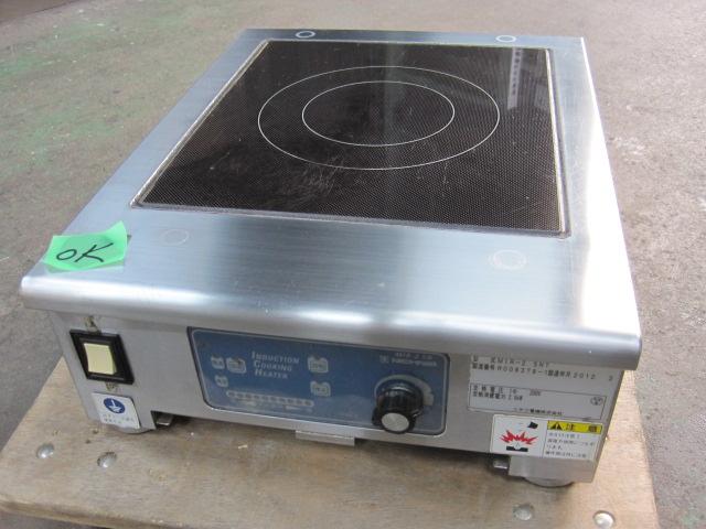 2012年製 【ニチワ】【業務用】【中古】 IHコンロ MIR-2.5NT 単相200V 自社6ヶ月保証