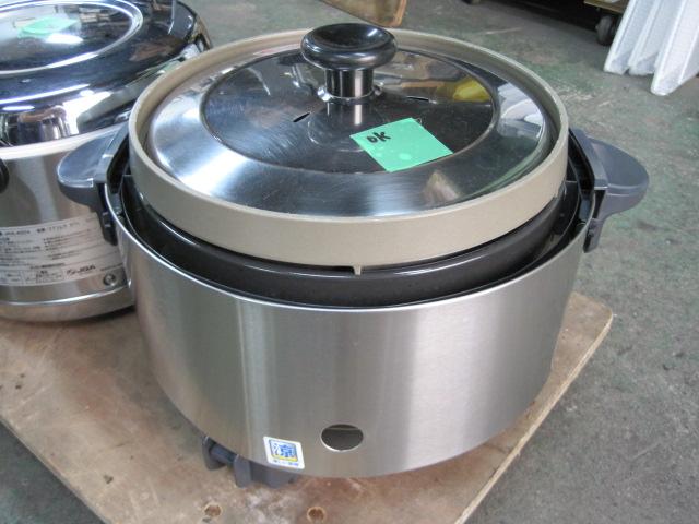 2012年製 【中古】【リンナイ】炊飯器 RR-S15SF 都市ガス  単二電池 自社6ヶ月保証