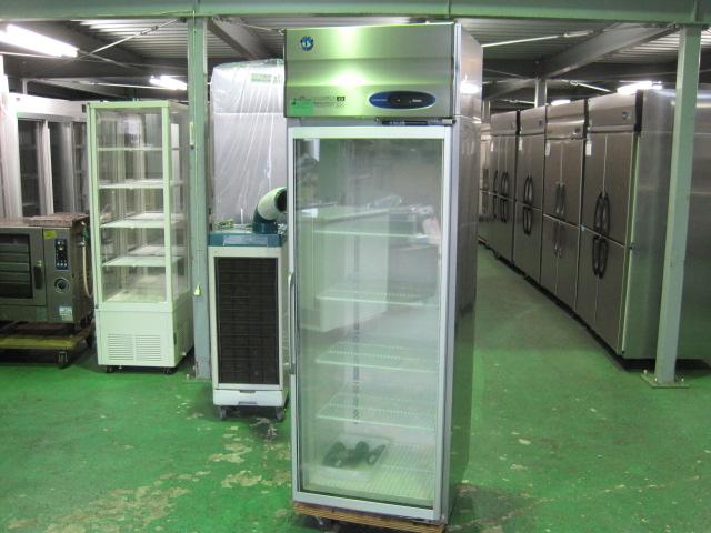 2015年製【ホシザキ】【業務用】【中古】 リーチイン冷凍ショーケース FS-63XT3-1◎ 単相100V/三相200V自社6ヶ月保証