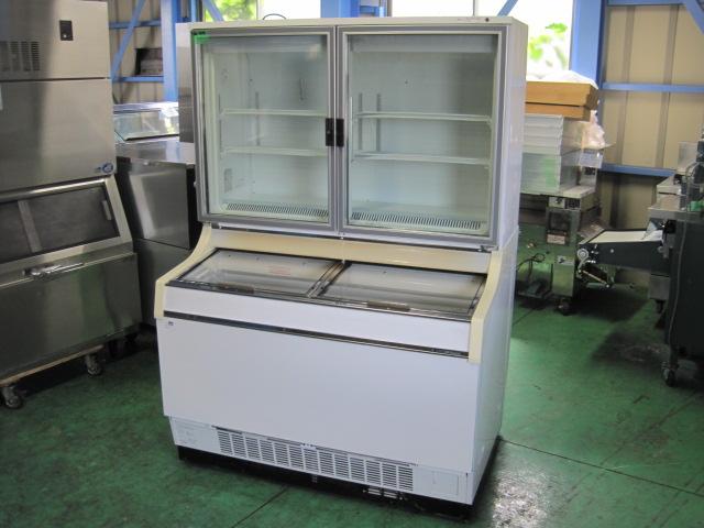 2012年製【サンデン】【業務用】【中古】 アイス用ショーケース GSR-D1200ZB-E* 単相100V自社6ヶ月保証