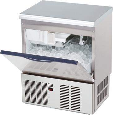 【大和冷機(ダイワ)】 新品製氷機 45kg DRI-45LMF(旧DRI-45LME) 単相100V メーカー1年保証