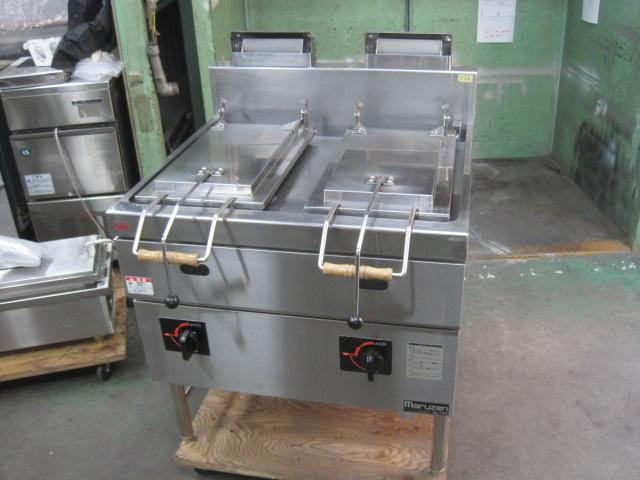 【中古】【マルゼン】 餃子焼器 MGZS-087WB* 都市ガス 2272 6ヶ月保証
