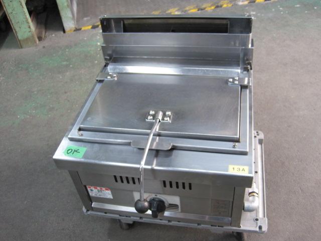 【マルゼン】【業務用】【中古】 餃子焼器 MGZ-044 都市ガス 自社6ヶ月保証