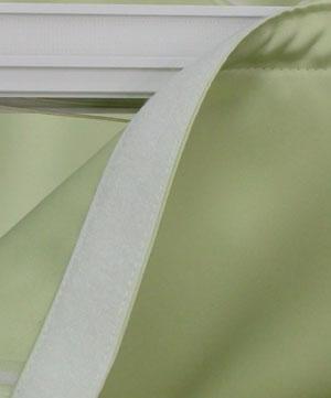 1m単位での販売です 色は白色です 日本製 カーテン本体の裏側上部に縫い付けてあるテープです 至上 ミシンにて縫い付けます 縫製資材です マジックテープノリ付B面