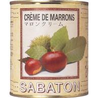 SABATON サバトン マロンクリーム (1kg×12缶)