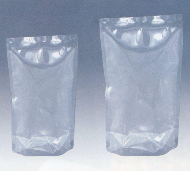 M-1830S (1,000枚) 180×300+46mm ナイロンスタンド袋 90℃ボイル 真空 冷凍対応 スタンディングタイプ 明和産商 (時間指定不可)