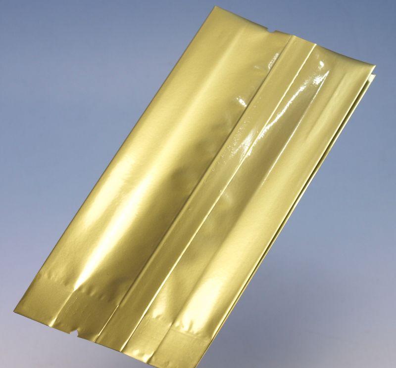VK-161(500枚×2袋)(金色)70×30×150mm アルミ蒸着ガゼット袋 脱酸素剤対応袋【本州/四国/九州は送料無料】