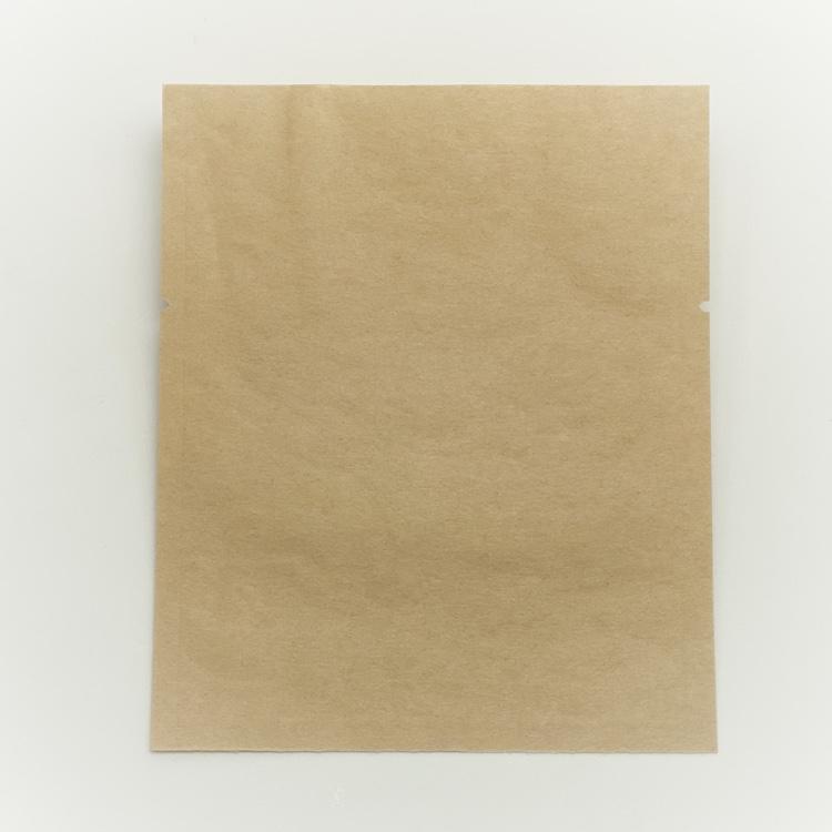 ZS-3 小 (500枚×14) 100×120mm 未晒クラフト紙使用三方袋 脱酸素剤対応袋 福重
