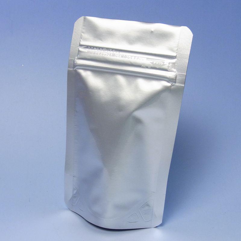 セイニチ ラミジップ AL-8 (2,400枚) 100×80+25mm(底)脱酸素剤対応袋 生産日本社 アルミスタンドチャック袋(時間指定不可)