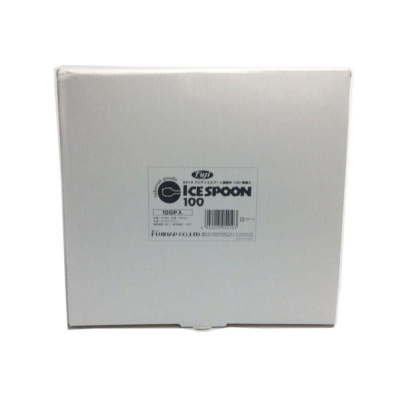 フジアイススプーン透明100mm 単袋入(1000本×10袋)
