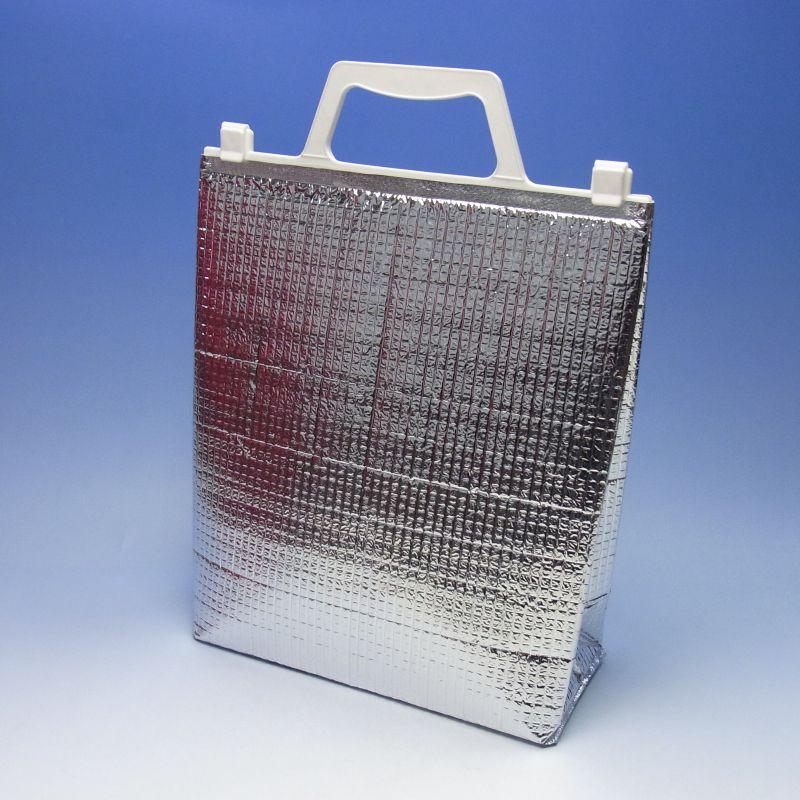 i-S(200) アルミ手提げ角底保冷袋Sサイズ225×90×265mm(200枚) 保冷バッグ【大型商品のため代引および時間指定不可】【北海道/沖縄/離島は別途「大型商品特別送料」がかかります】