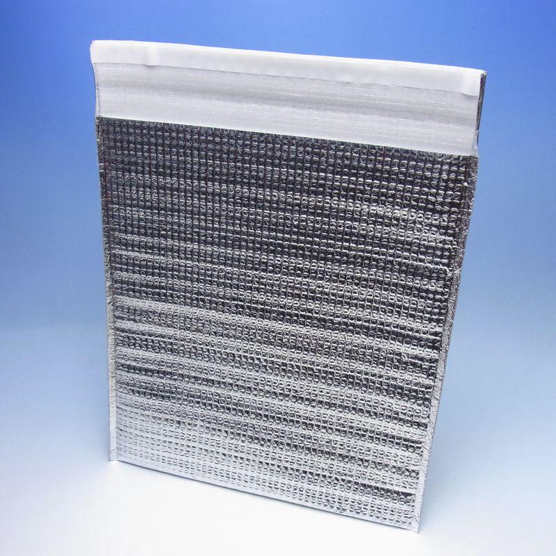 封筒型アルミ平保冷袋(M) (400枚) 260×285+40mm 密着テープ付き(時間指定不可) (北海道/沖縄/離島への発送はできません)