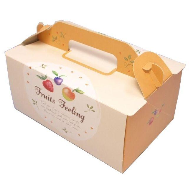 【初回限定】 ケーキ箱 OPL フルーツ 6×8(200枚) 180×240×90mm ショートケーキ用 手提げサイドオープン式 パッケージ中澤, 八女郡 99d9604f