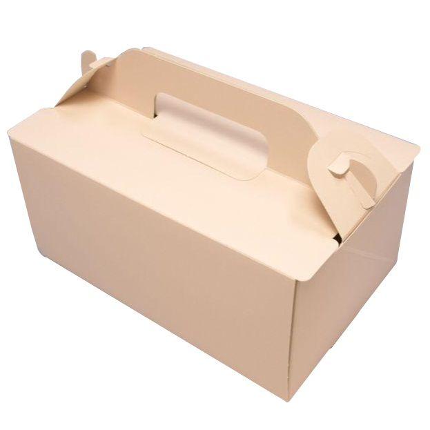 ケーキ箱 OPL チェリー 3×4(500枚) 90×120×90mm ショートケーキ用 手提げサイドオープン式 パッケージ中澤 【本州/四国/九州は送料無料】