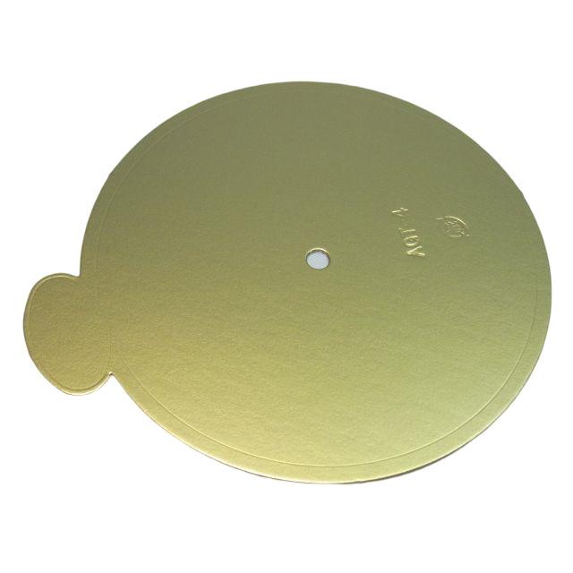 ケーキトレー AGT-K 4寸 φ138(200枚×3箱) ケーピン 紙製金色 デコトレー パッケージ中澤 【本州/四国/九州は送料無料】