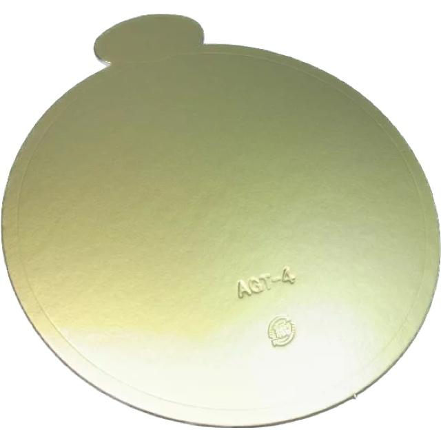 ケーキトレー AGT-S L6寸(100枚×3箱)φ219 スタンダード 紙製金色 デコトレー パッケージ中澤