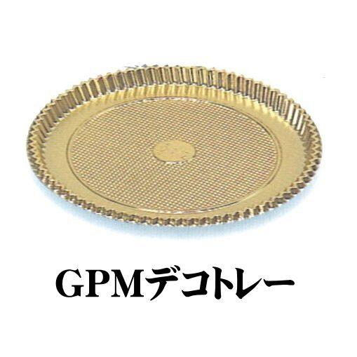GPM-6デコトレー6寸(100枚×2箱)丸形樹脂トレー パッケージ中澤【本州/四国/九州は送料無料】