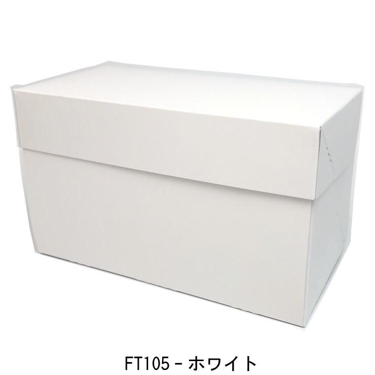 FT105 ホワイト No.6(200枚) 181(170)×260×105mm 保冷剤スペース付 ケーキ箱 パッケージ中澤 トレーは別売りです