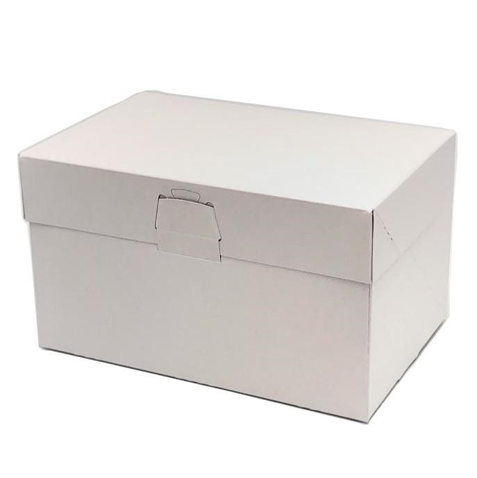 ケーキ箱 ロックBOX105 プレス 4×6(300枚) 120×180×105mm ロックボックス105 パッケージ中澤