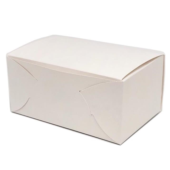ケーキ箱 白ショート折 NO.9(200枚)210×270×85mm 白折No.9 保冷剤スペース付 上質原紙使用 パッケージ中澤