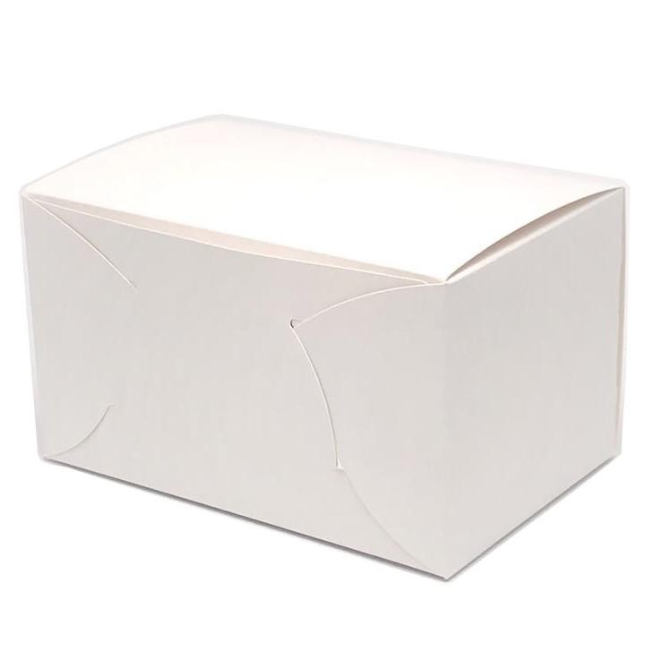 ケーキ箱 105白折 NO.10(200枚)240×300×105mm 保冷剤スペース付 上質原紙使用 パッケージ中澤