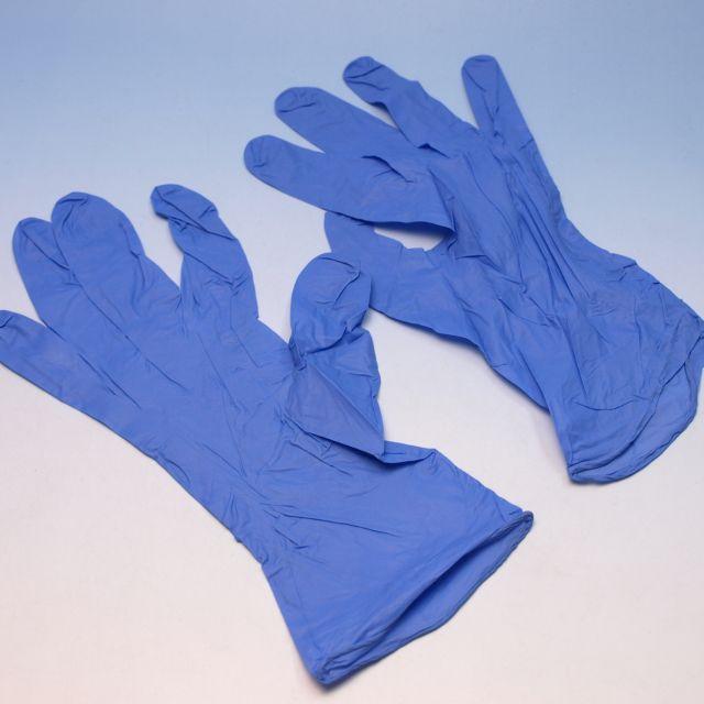 スーパーソフトニトリルゴム手袋 Lサイズ(100枚×30箱) シルクプロテイン加工【本州/四国/九州は送料無料】