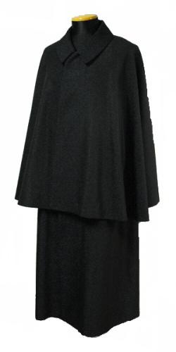 男物着物 とんびコート(インパネコート) 大正ロマン 和装に似合う ポリエステル生地 日本製【送料無料】