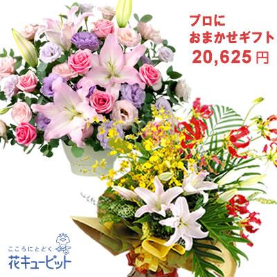 花キューピット【歓送迎・おまかせ】プロにおまかせフラワーギフトyiyr-o18999
