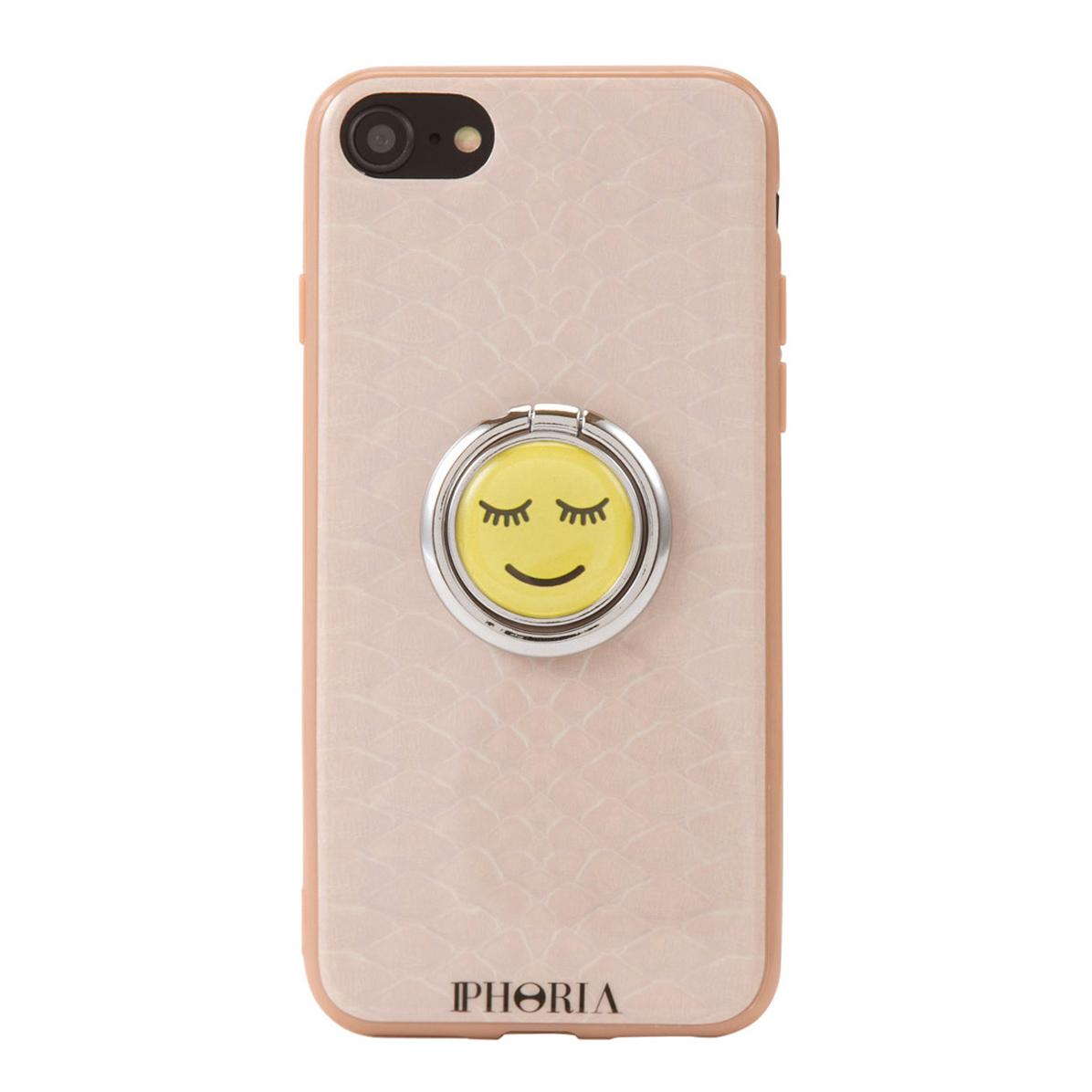 IPHORIA アイフォリア Case for Apple iPhone 7/8 - Ring Happy Beige Snake リングハッピーベージュスネーク 海外ブランド オシャレ 人気
