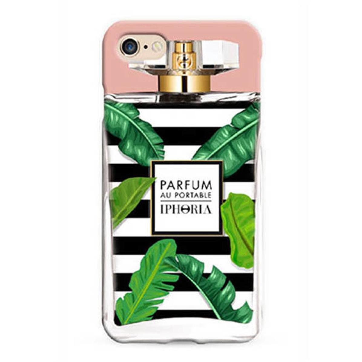 IPHORIA アイフォリア Perfume Case Black and White Flacon for iPhone 7/8 パフュームケースブラックアンドホワイトフラコン