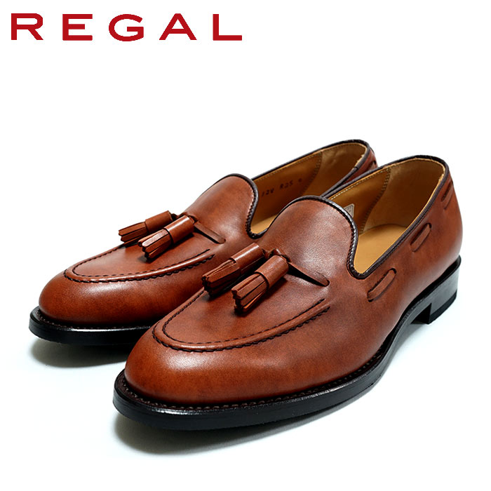 REGAL(リーガル)12VR-BF タッセルローファー ブラウン