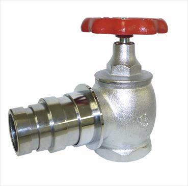 大東製作所 消火栓弁50A・65A×90°使用圧力2.0Mpa 差込式 消防認定品 DV-22-007