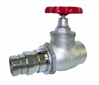 大東製作所 消火栓弁50A・65A×180°使用圧力2.0Mpa 差込式 消防認定品 DV-22-008