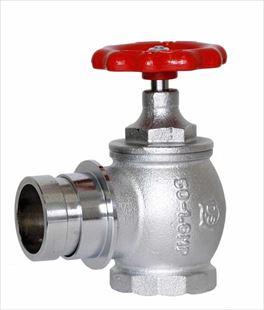 大東製作所 消火栓弁50A×90°使用圧力1.6Mpa 差込式 消防認定品 DV-402