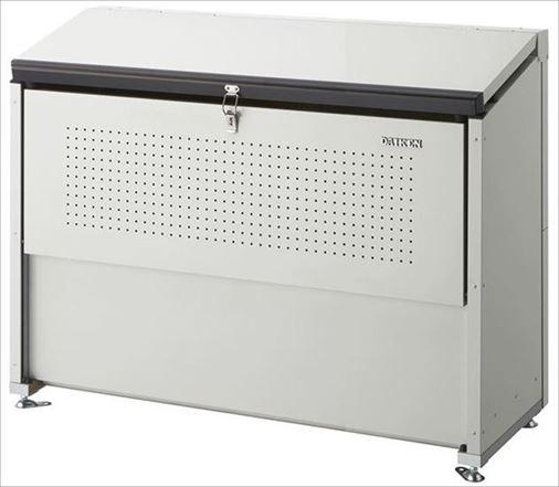 ダイケン スチールゴミ収集庫クリーンストッカー 間口1300 CKE-1305 ( 旧品番 CKE-1300 ) 屋外 大型 ゴミ箱 ゴミ置き