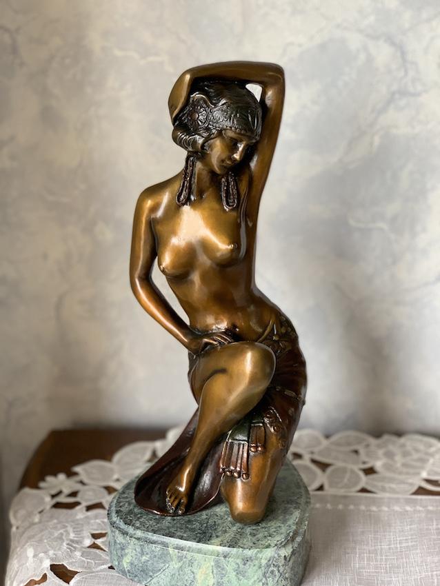 アメリカ製 ブロンズ像『踊り子』