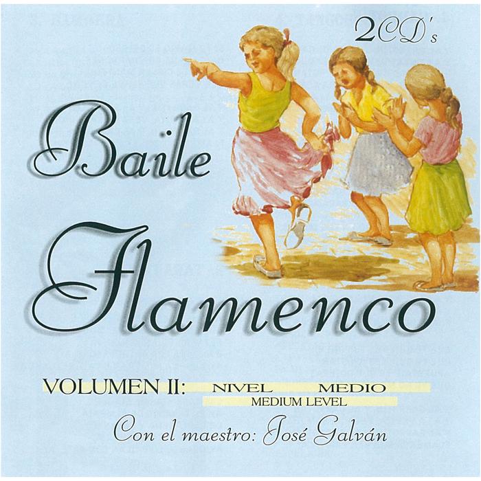 """フラメンコの代表的な曲が収録された人気オムニバス """"BAILE 大人気! FLAMENCO""""シリーズ第二弾 ソロ コンパス バイレ FLAMENCO 訳あり商品 1点のみメール便可 フラメンコ VOL.2 2CD BAILE"""