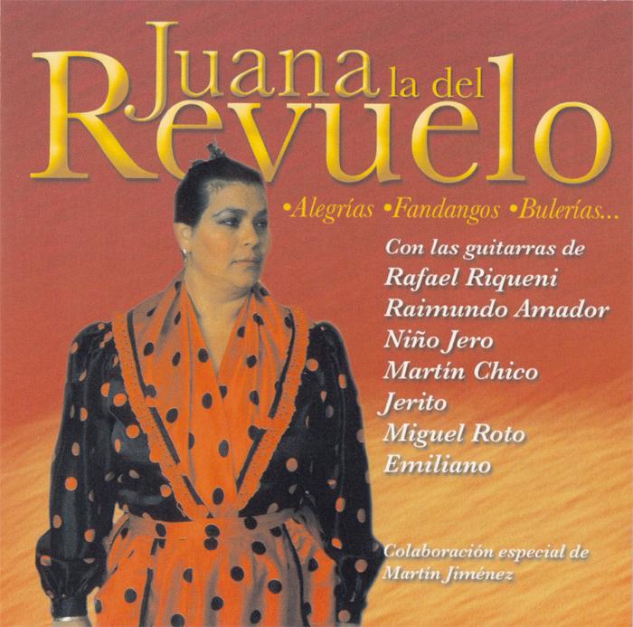 セビージャ生まれのフアナ 値引き ラ デル レブエロの2006年発表のCD フアナ レブエロ LA 1点のみメール便可 登場大人気アイテム JUANA フラメンコCD DEL REVUELO