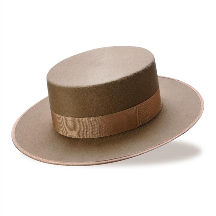 コルドベス/コロリード ベージュ 羊毛100%【フラメンコ用品】ISESA社製 帽子