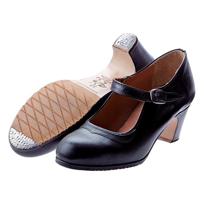〈オスーナ〉プロ/黒革【幅広(C)】【靴】【フラメンコシューズ】サパトス zapatos