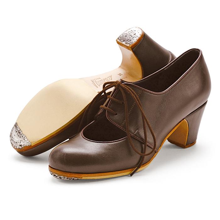 一流の品質 〈ドン・フラメンコ〉セミプロ・マラゲーニャ/ダークブラウン革紐【普通幅(B)】【靴】【フラメンコシューズ】, JS SISTER:8f5e9a0b --- jf-belver.marcoweb.pt