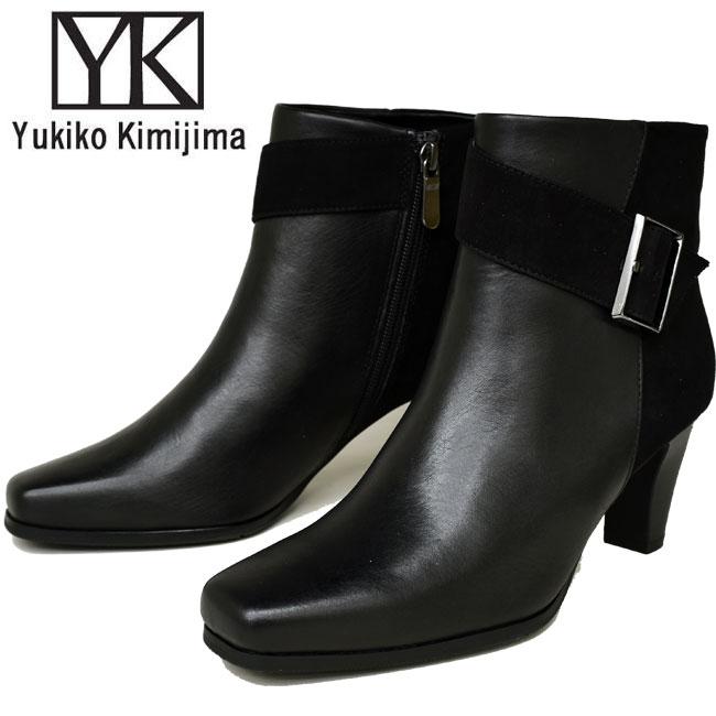 【クーポンのご利用でさらに10%OFF】ユキコ キミジマ Yukiko Kimijima ショートブーツ ブーティー レディース 本革 レザー 1013キャッシュレス 還元 消費者還元