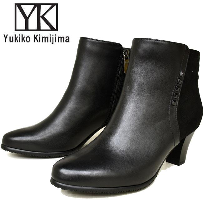 【クーポンのご利用でさらに10%OFF】ユキコ キミジマ Yukiko Kimijima ショートブーツ ブーティー レディース 本革 レザー 6904キャッシュレス 還元 消費者還元