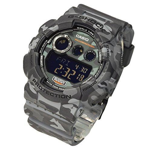 送料無料 G-SHOCK CASIO カシオ Gショック メンズ 腕時計 デジタル カモフラージュシリーズ GD-120CM-8DR ブラック 海外モデル 並行輸入