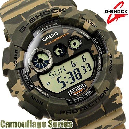 送料無料ジーショックG-SHOCK 腕時計 GD-120CM-5DR カモフラージュシリーズ 迷彩 メンズ 並行輸入品