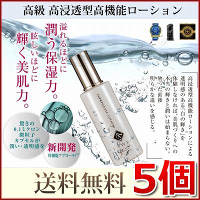 ラーブ インプレグネイトローション RAWBE IMPREGNATE LOTION 100ml 5個 送料無料 化粧水 ローション 美容液 スキンケア コスメ エッセンス 毛穴 シミ たるみ