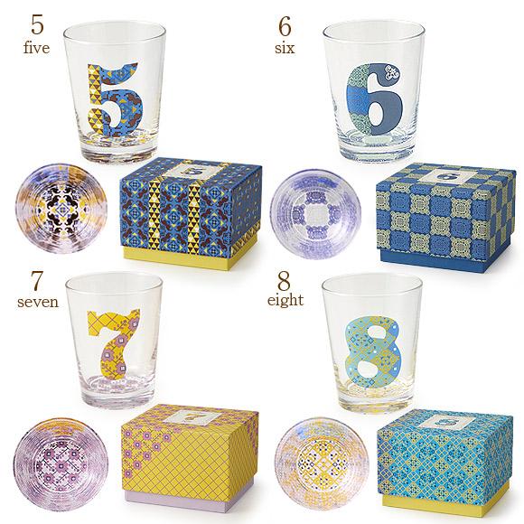 小倉陶器 ナンバーズグラス グラス コップ ギフトセット プレゼント