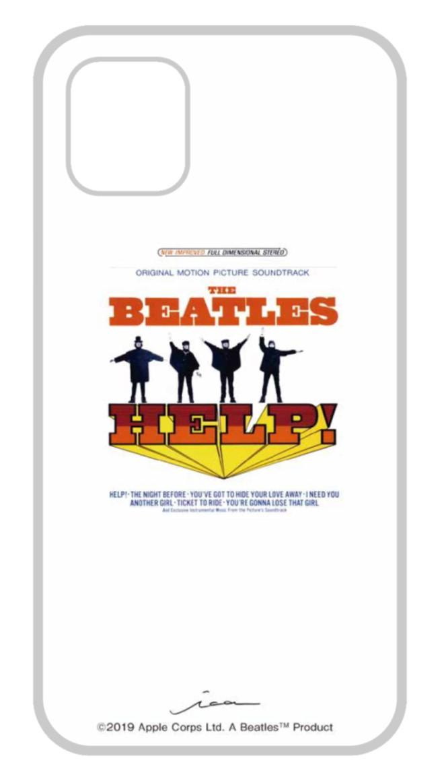 ビートルズの名盤ジャケットデザインを施したiPhoneケース iPhone 11 Pro対応 ビートルズ公式商品 HELP Pro用 ガラスケース US 国内在庫 020 NEW ARRIVAL
