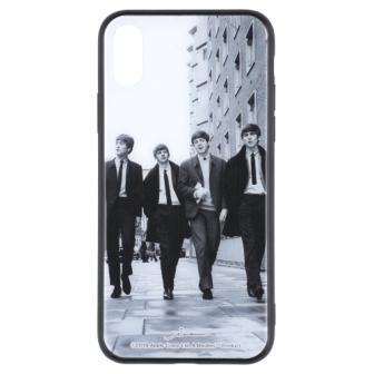 ビートルズの名盤ジャケットデザインを施したiPhoneケース iPhone XS Max対応 高級品 内祝い ビートルズ公式商品 ガラスケース BBC THE Vol.2 Max用 BEATLES 018