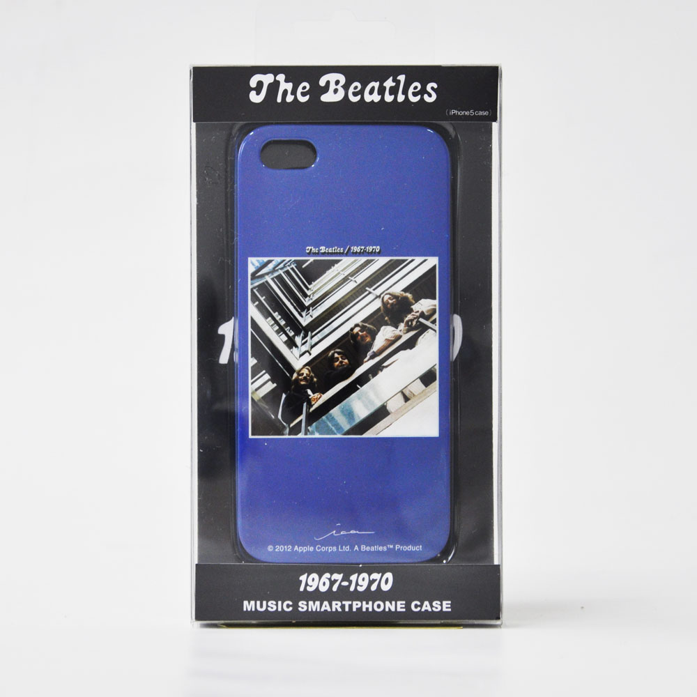 ビートルズ 今季も再入荷 The Beatles 公式iPhoneケース iPhone5 5S用 ザ 通称 青盤 1967-1970 ビートルズ公式商品 Beatles 5Sケ-ス_The 商品追加値下げ在庫復活